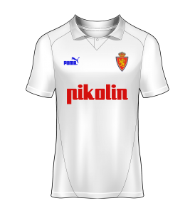 camiseta local Real Zaragoza 94/95