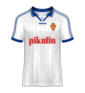 camiseta local Real Zaragoza 98/99