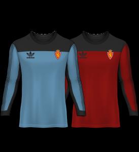 camiseta portero real zaragoza 80-81