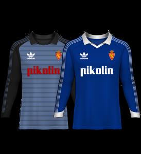 camisetas de portero 82-83