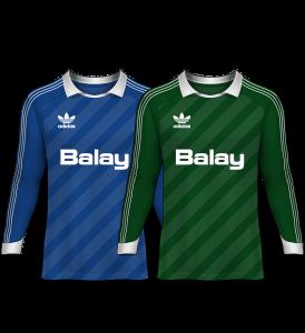 camisetas de portero 1985-86