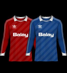 camisetas de portero 1986-87
