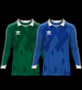 camisetas de portero 1987-88