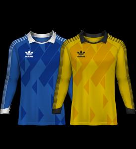 camisetas de portero 1988-89