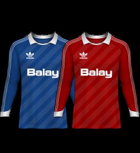 camisetas de portero 1989-90
