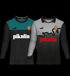 camiseta portero real zaragoza 93-94