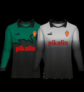 camiseta portero real zaragoza 94-95