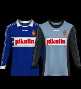 camiseta portero real zaragoza 98-99