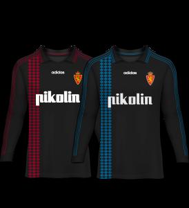 camiseta portero real zaragoza 95-96