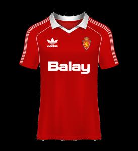 Camisetas Real Zaragoza 80s