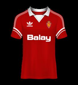 Camiseta visitante 88-89