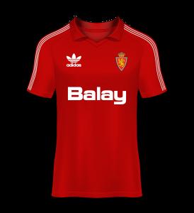 Camiseta visitante 89-90