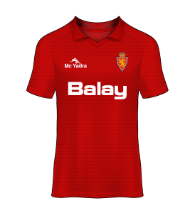camisetas Real Zaragoza 90/91 visitante