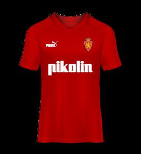 camiseta visitante Real Zaragoza 93/94