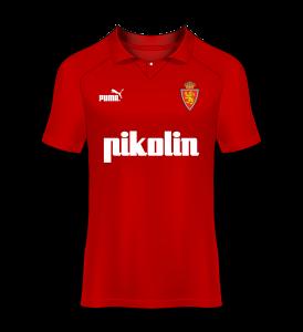 camiseta visitante Real Zaragoza 94/95