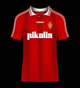camiseta visitante Real Zaragoza 97/98